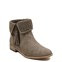 Fleece Trim Ankle Boots Women George At Asda
