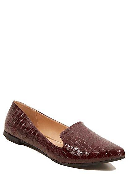 mock croc slipper shoes women george at asda. Black Bedroom Furniture Sets. Home Design Ideas