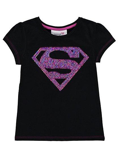 DC Supergirl Sequin Logo T-shirt | Kids | George at ASDA