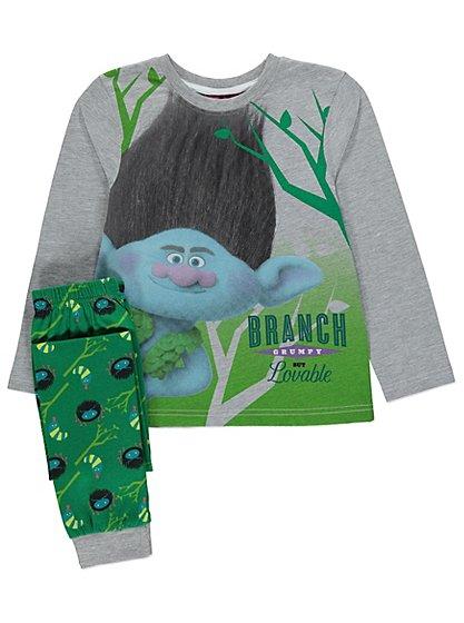 Trolls Pyjamas Kids George At Asda