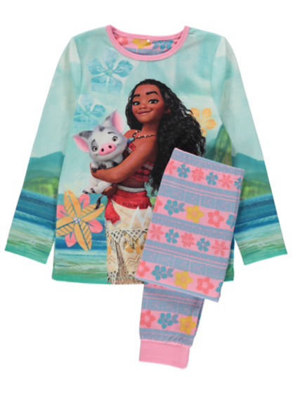 Disney Moana Pyjamas Kids George At Asda