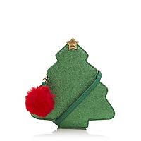 christmas tree cross body bag women george at asda. Black Bedroom Furniture Sets. Home Design Ideas