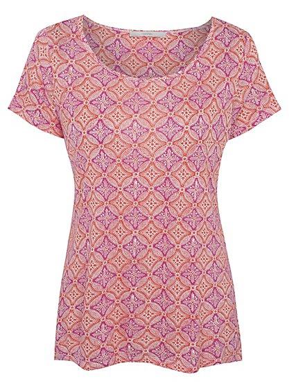 Tile Print T-Shirt | Women | George at ASDA