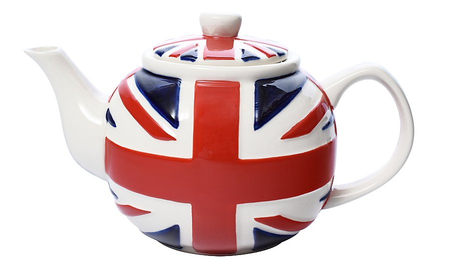 George Home Union Jack Teapot