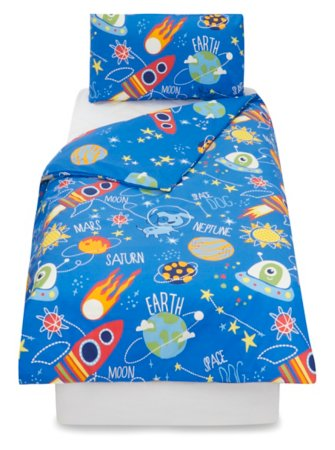 George Home Space Dog Duvet Set
