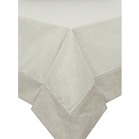 George Home Natural Linen Table Cloth Home Amp Garden
