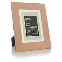 george home copper glass photo frame 7x5 inch home. Black Bedroom Furniture Sets. Home Design Ideas
