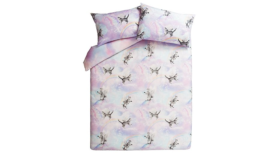 George Home Kittycorns Duvet Set | Home & Garden | George ...