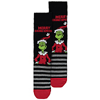 Dr Seuss The Grinch Christmas Socks Men George At Asda