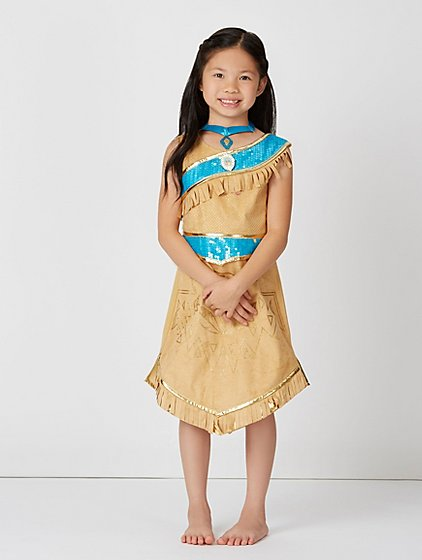 disney princess pocahontas fancy dress costume kids. Black Bedroom Furniture Sets. Home Design Ideas