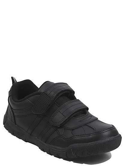Boys School Shoes Black School George At Asda