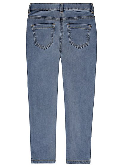 Embroidered skinny fit jeans kids george at asda