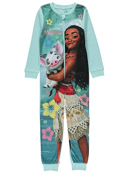 Disney Moana Onesie Kids George At Asda