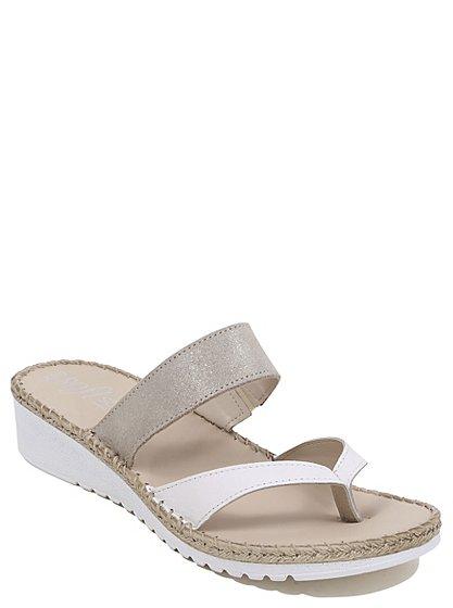 soft sole wedge heeled sandals women george at asda. Black Bedroom Furniture Sets. Home Design Ideas