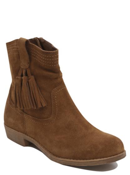 tassel trim suede ankle boots george at asda