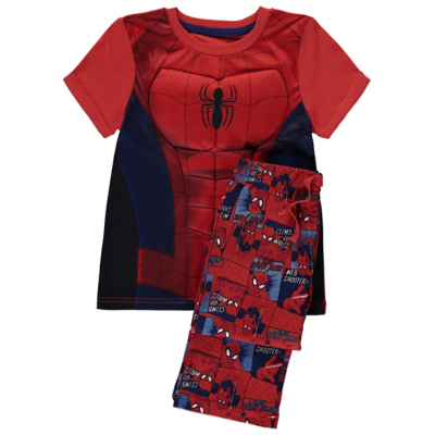 George Marvel Ultimate Spider-Man Pyjamas - Red