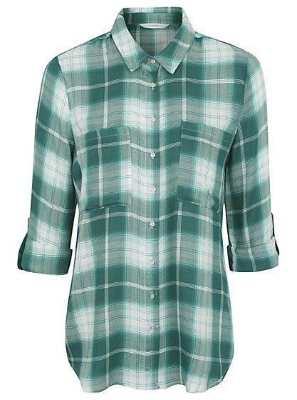 Check Print Shirt | Women | George at ASDA