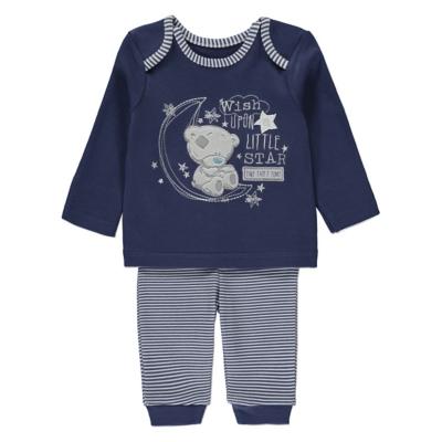 George Tatty Teddy Pyjamas - Blue.