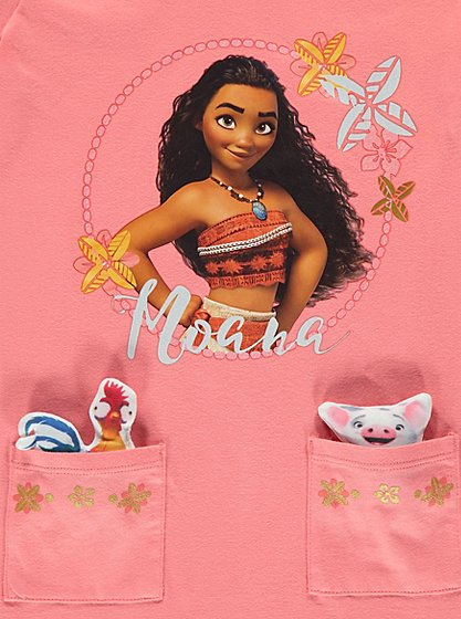 Disney Moana Top And Leggings With Accessory Set Kids
