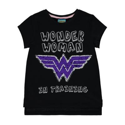 George DC Comics Wonder Woman T-Shirt - Black.
