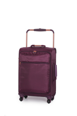 it Luggage World's Lightest Trolley Case - Small, Aubergine