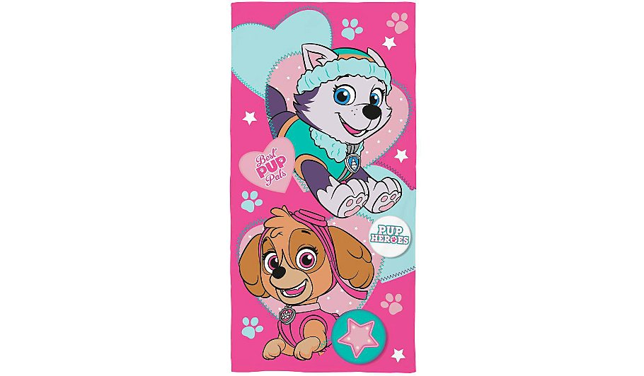 paw patrol towel 100 cotton beach towels george at asda. Black Bedroom Furniture Sets. Home Design Ideas