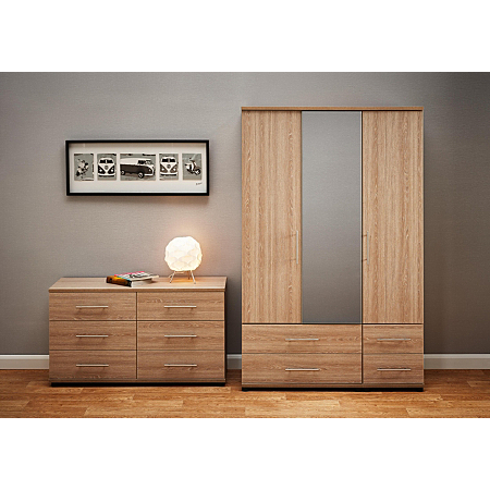 Madison Bedroom Furniture Range Oak Effect Bedroom Ranges Asda Direct