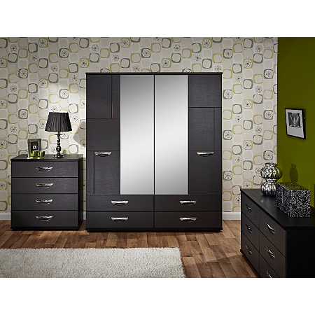 Monroe Bedroom Furniture Range Black Bedroom Ranges Asda Direct
