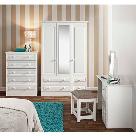 Grace Bedroom Furniture Range White Bedroom Ranges George At Asda