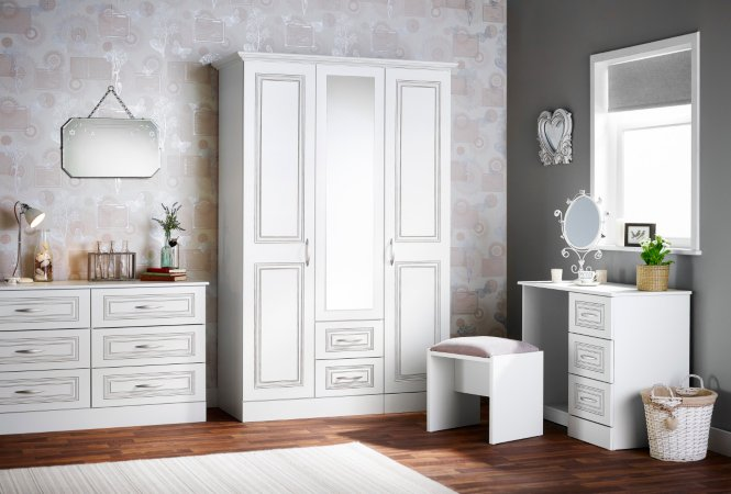 Grange Bedroom Furniture Range - White