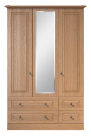 Cooper Bedroom Furniture Range - Oak Effect