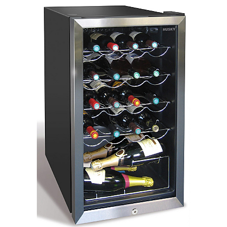husky hm39 el 20 bottle drinks cooler. Black Bedroom Furniture Sets. Home Design Ideas