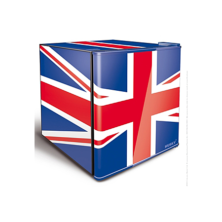 husky el193 union flag mini fridge mini fridges asda. Black Bedroom Furniture Sets. Home Design Ideas