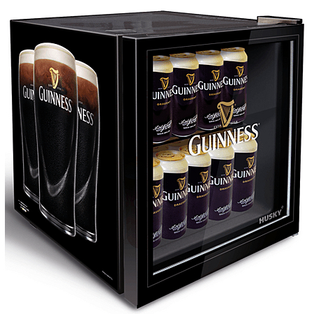 husky hy205 guinness mini fridge mini fridges asda direct. Black Bedroom Furniture Sets. Home Design Ideas