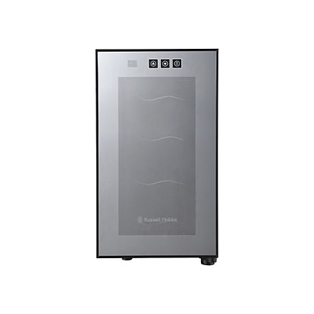 russell hobbs rh8wc2 8 bottle wine cooler mini fridges. Black Bedroom Furniture Sets. Home Design Ideas