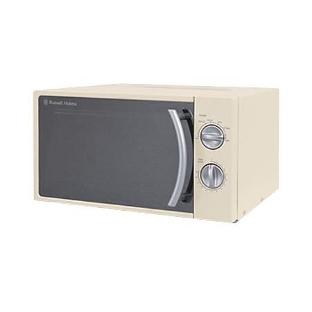 russell hobbs rhm1709c 17l 700w microwave oven cream. Black Bedroom Furniture Sets. Home Design Ideas