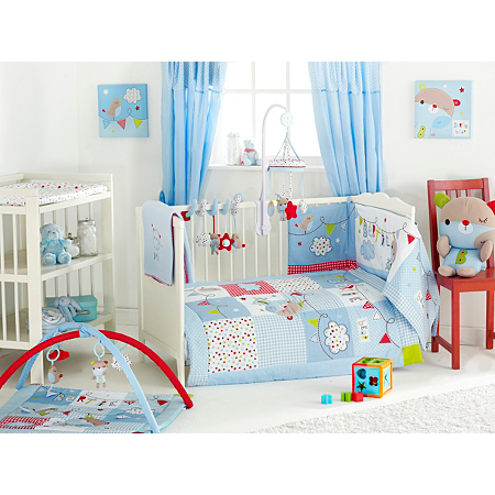 Red Kite Bertie Bear Cosi Cot Bedding Bale Baby Bedding