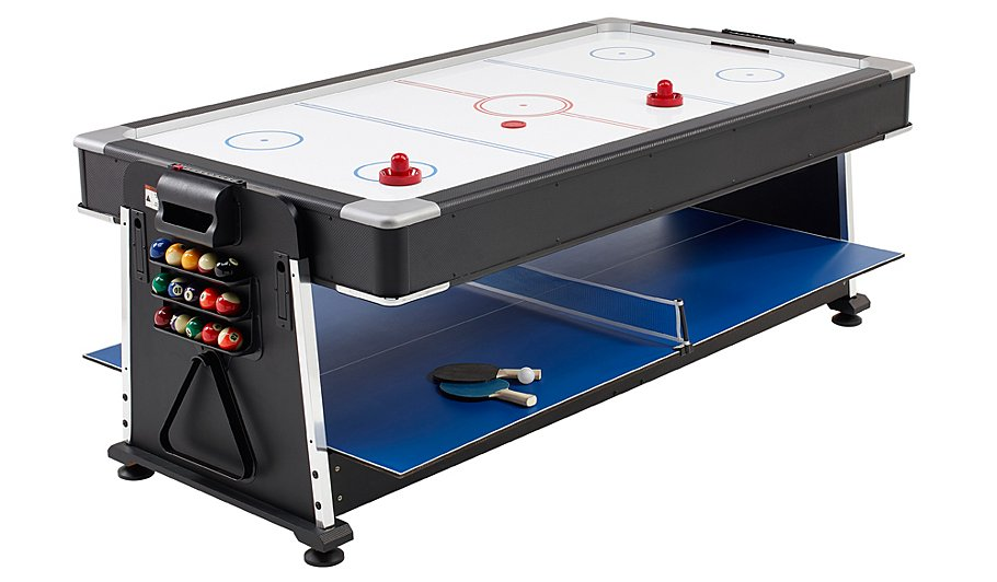 3 in 1 pool air hockey table tennis multi game table for 10 games in 1 table