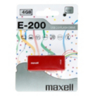 Maxell E200 USB-E-200 USB Stick - 4GB