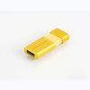 Verbatim 47395 Store 'n' Go Pinstripe USB Drive 8GB Yellow main view