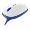 Microsoft Wired Express PC Mouse - Blue main view