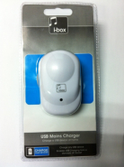 iBox USB Mains Charger