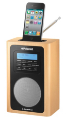 Polaroid Wooden DAB Radio Dock