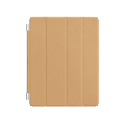Apple iPad Leather Smart Cover - Tan, Tan