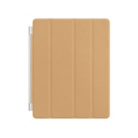Apple iPad Leather Smart Cover - Tan