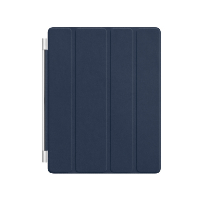Apple iPad Leather Smart Cover - Navy, Navy