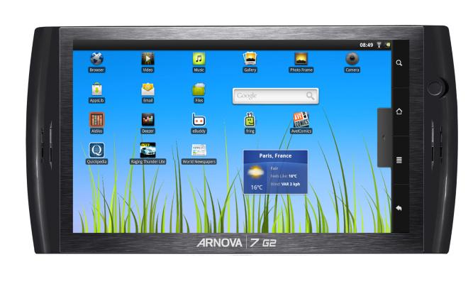 Arnova 7 G2 Tablet - 7ins - 4GB Flash Memory