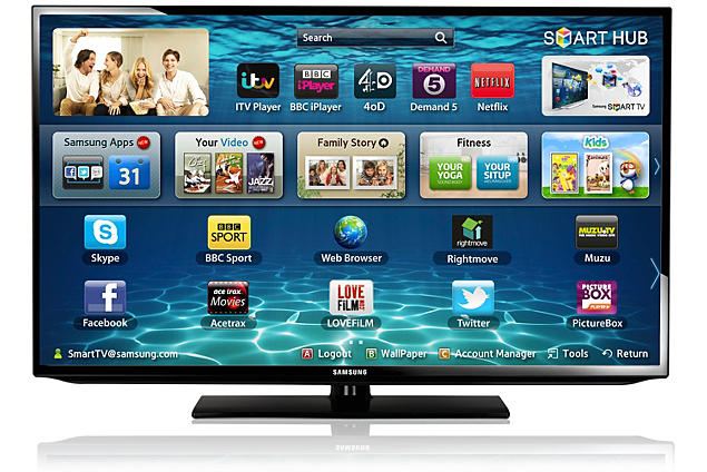 samsung eh5300 50 inch full hd freeview hd smart led tv only including p p 12. Black Bedroom Furniture Sets. Home Design Ideas