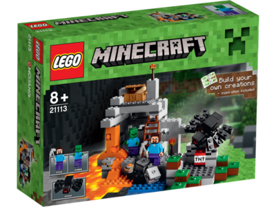 LEGO Minecraft - The Cave - 21113 | LEGO Toys | George at ASDA