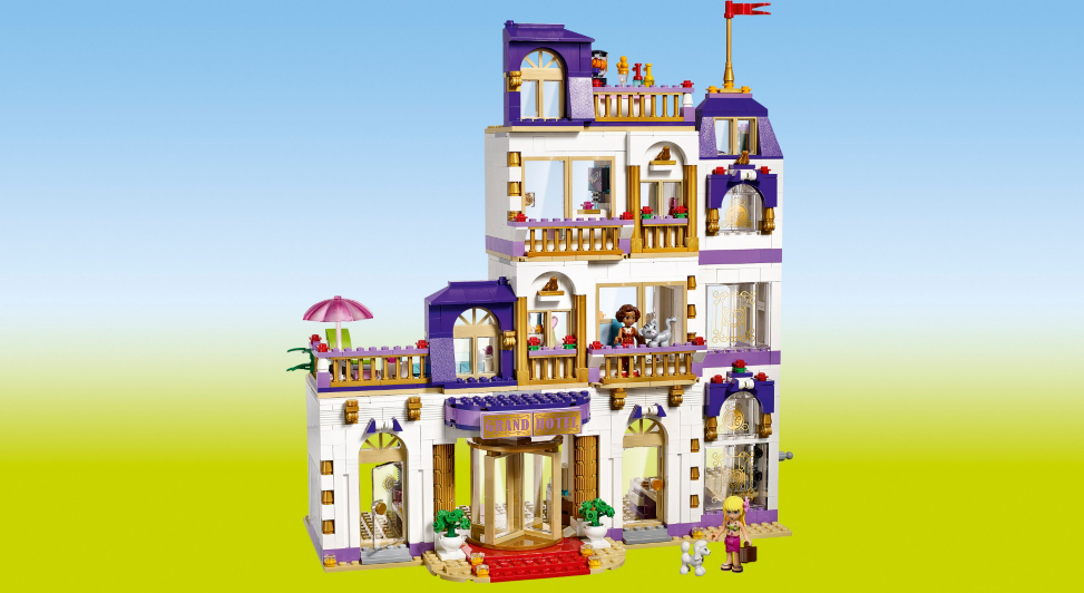 LEGO Friends   Heartlake Grand Hotel   41101   Kids   George at ASDA